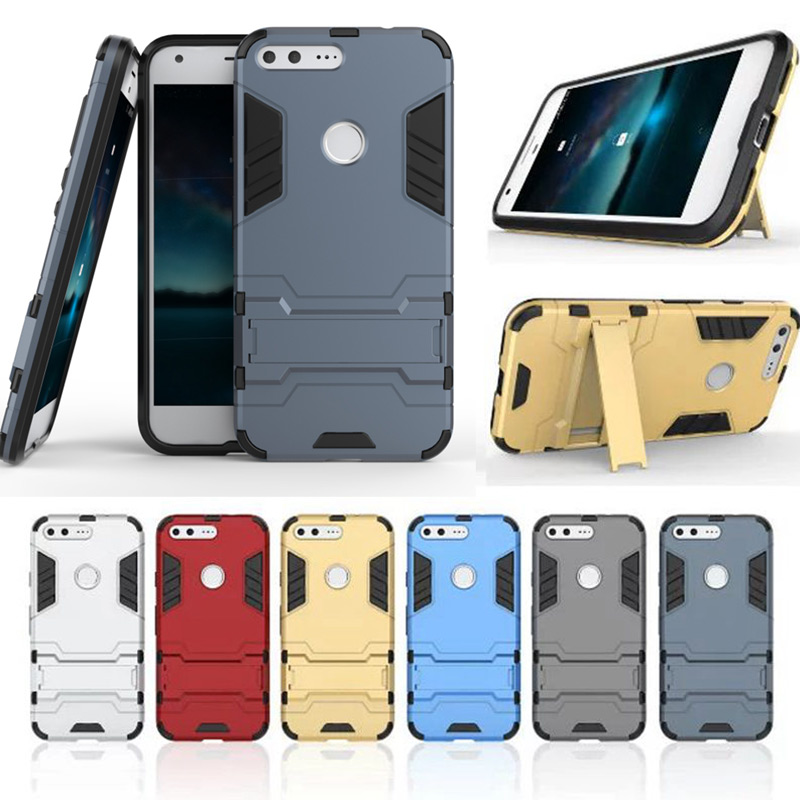 New Rugged Armor Case For Google Pixel XL Case Tough Shockproof Shield Armour Case For Google Nexus 6P 5X Cover