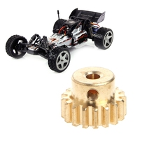 New 1Pc Parts For Wltoys 12428 12423 1/12 RC Car Spare Parts 17T Motor Gear 0088 цена 2017
