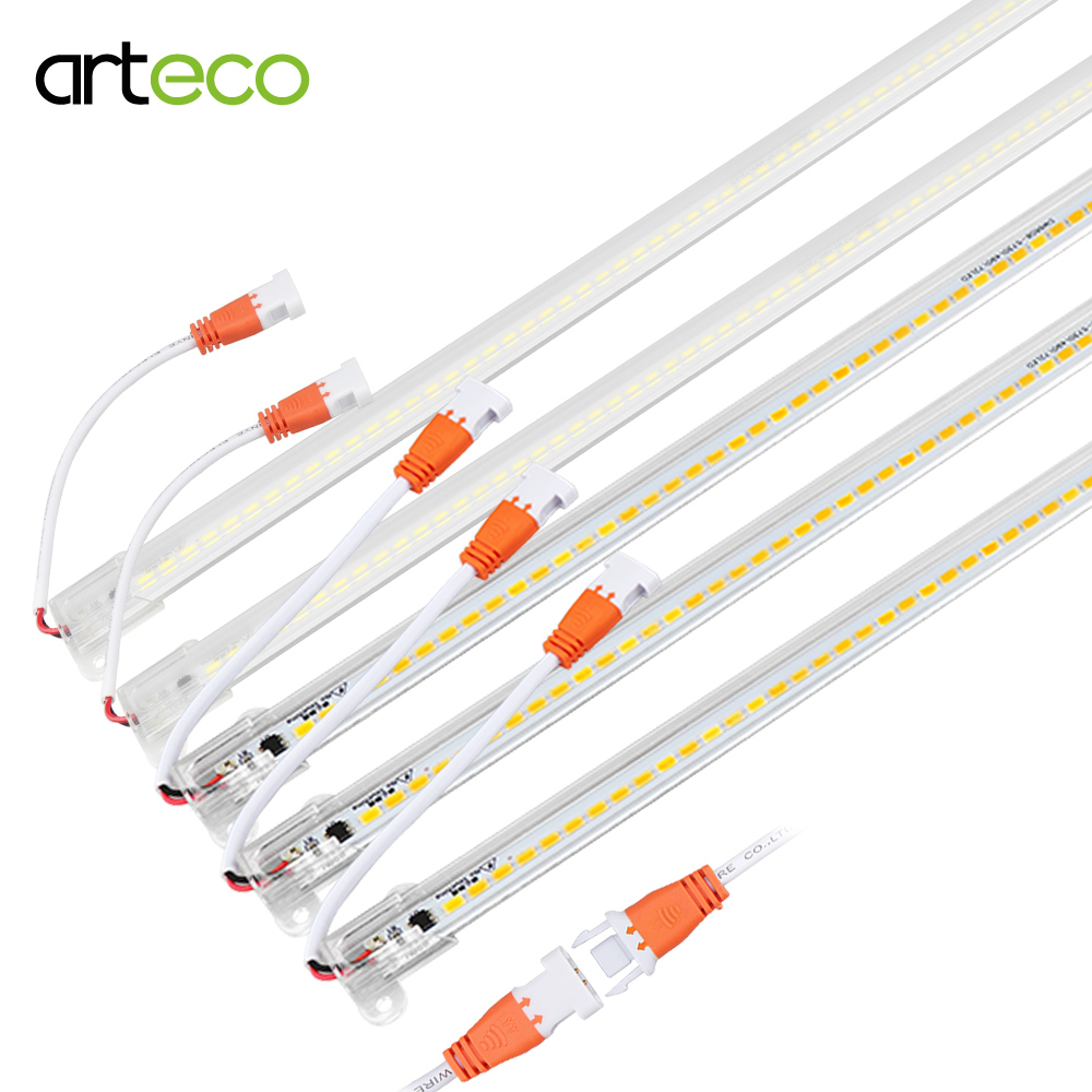 LED Bar Light AC220V High Brightness LED Tube 50cm 72LEDs 5730 LED Rigid Strip Energy Saving LED Fluorescent Tubes 2-5pcs/lot