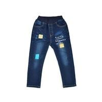 Niños Adolescentes Ropa 2018 Primavera Verano Corea Moda para Niños Rotos Agujero Pantalones Vaqueros de Las Muchachas de Ocio Pantalón de Mezclilla Pantalones Para Niño