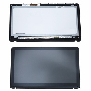 """15.6""""For Sony Vaio SVF152 Series SVF152C29M SVF152C29L SVF152A29V N156HGE LB1 Full LCD Display Touch Panel Screen Assembly+Bezel"""