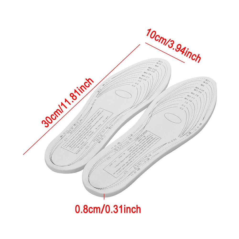 1 пара унисекс Стельки из пены, запоминающие форму арки Уход за ногами комфорт ортопедический, облегчающий боль коврик дезодорант подушка для женщин и мужчин стельки для ног
