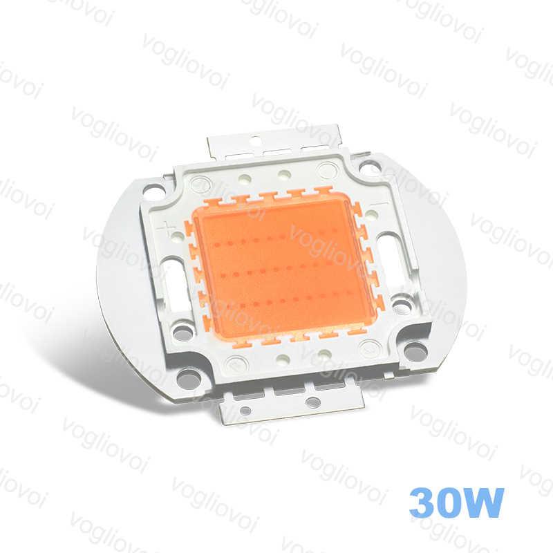 Vogliovoi crecer luces LED Chip COB 10W 20W 30W 50W 100W lleno espectro para Grwon luces invernadero cultivo tienda plantas flor DIY
