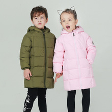 Kids Winter Hoodies Coat For Girls New Design 2018 Fashion Casual Cotton Padded Outwear Parka Kid Clothes Unisex Down Jacket winter jacket children 2018 new thick cotton padded teenager girls outwear coat casual turn down collar kids long warm parka