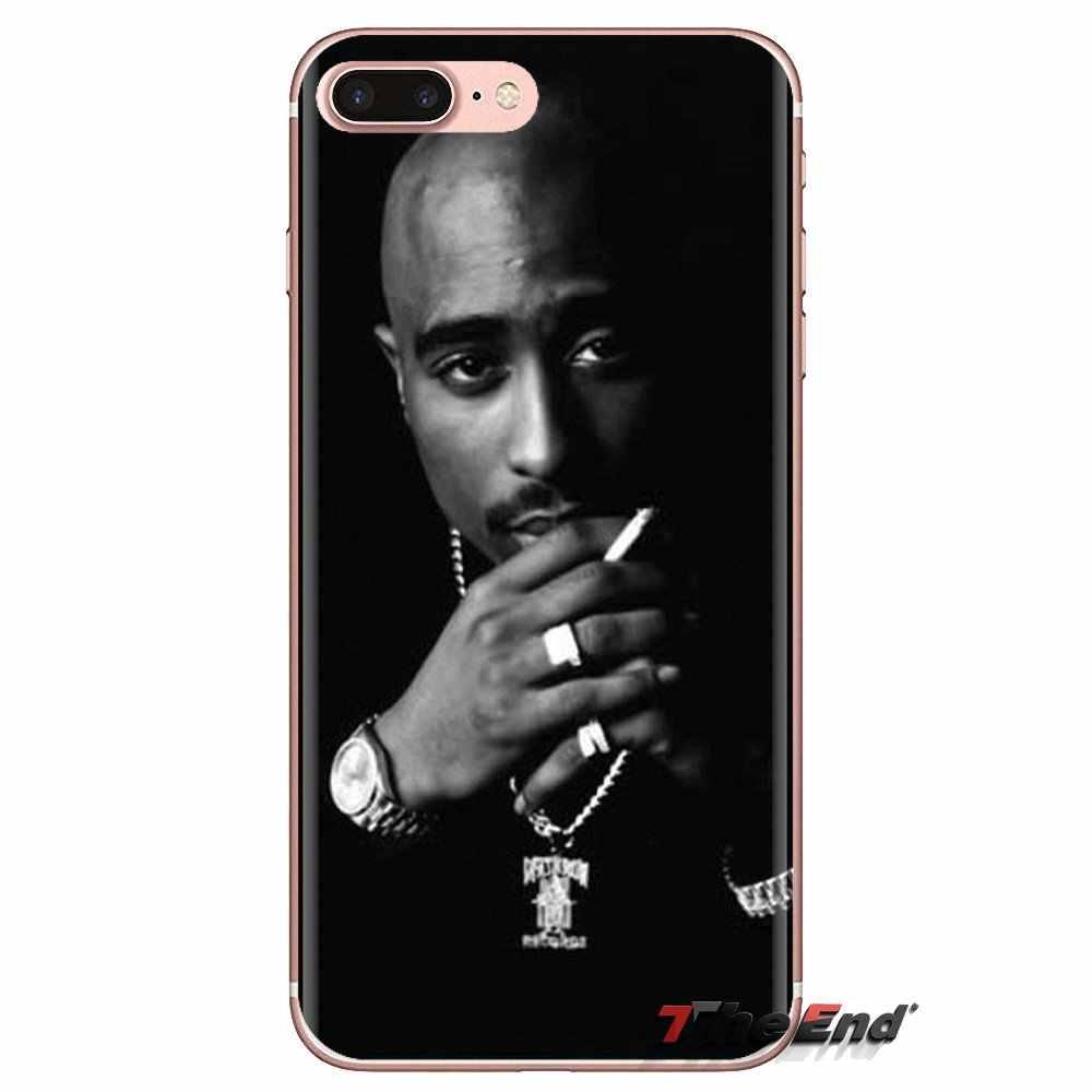 Силиконовый чехол Tupac Shakur 2 Pac Legend Hip Hop Star для iPod Touch Apple iPhone 4 4s 5 5S SE 5C 6 6 S 7 8 X XR XS Plus MAX
