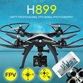 Оригинал H899 RC Quadcopter HuanQi 899 Большой Беспилотный БПЛА HQ899 2.4 Г 4CH 6-осевой Вертолет Может Добавить HD 5MP WIFI FPV КАМЕРЫ VS H502S H11WH
