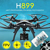 Original H899 RC Quadcopter HuanQi 899 Big Drone HQ899 UAV 2.4G 4CH 6-Axis Helicopter Can Add HD 5MP WIFI FPV CAM VS H502S H11WH