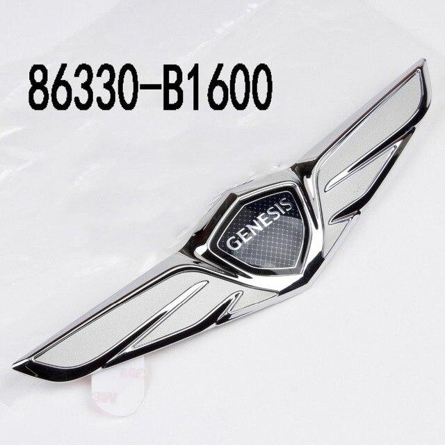 Good OEM 86330 B1600 86330B1600 86330 B1600 Genesis G80 Trunk Wing Emblem For Hyundai  Genesis G80