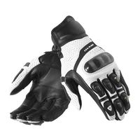 Wholesale Top Leather Perforated Carbon Fiber Motorcycle Gloves Road Riding Gloves Men Breathable Protective Gloves