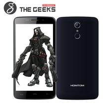 Original HOMTOM HT17 MTK6737 5.5 Pulgadas HD de Pantalla Táctil Del Teléfono Celular ID Android 6.0 3000 mAh Batería 1G RAM 8G ROM 4G LTE Smartphone
