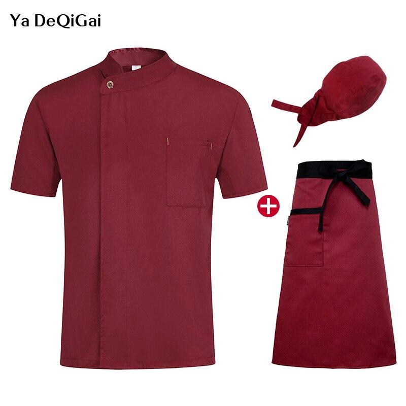 News Hotel Kitchen  Jacket Chef Restaurant Uniforms Work Clothes Men  Apron Bakery Shirts Sushi Uniforms  Wholesale Chef Coat