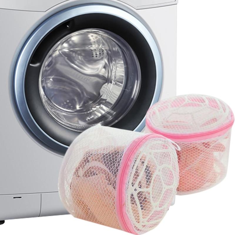 Clothes Washing Machine Laundry Bra Aid Lingerie Mesh Net Wash Bag Pouch Basket Women Saver Clothes Protect Intimates