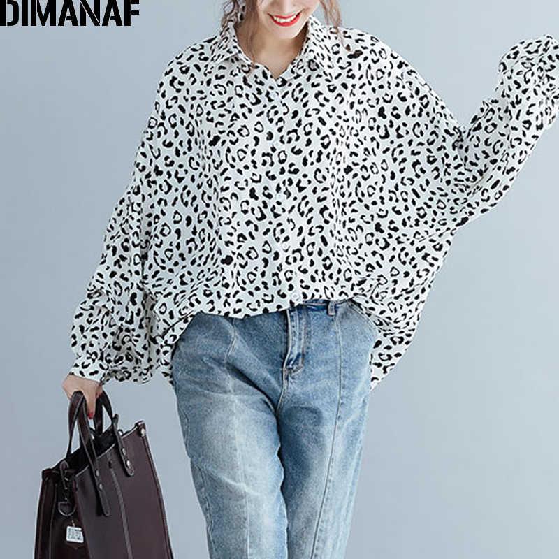 DIMANAF プラスサイズ女性ブラウスシャツ夏の女性はチュニックプリントビッグサイズルーズカジュアルバットウィング女性服 5XL 6XL 2019 新