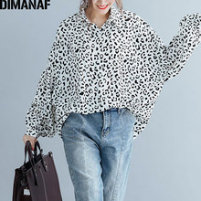 DIMANAF Plus Size Women Blouse Shirts Summer Lady Tops Tunic Print Big Size Loose Casual Batwing Female Clothes 5XL 6XL 2019 New(China)
