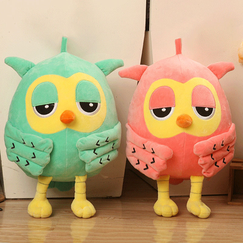 Cute Owl Plush Toys Soft Stuffed Animal Doll For Baby Kids Birthday