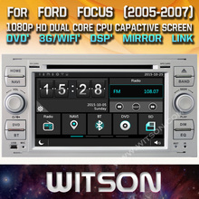 WITSON CAR DVD GPS for FORD FOCUS(Silver) New Technology+Capctive Screen+1080P+DSP+WiFi+3G+DVR+Good Price+GIFT+Free shipping