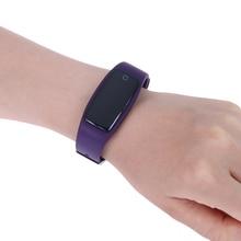Спортивные Водонепроницаемый Bluetooth SmartBand шагомер сердечного ритма сна Фитнес калорий трекер Smart Браслет наручные часы