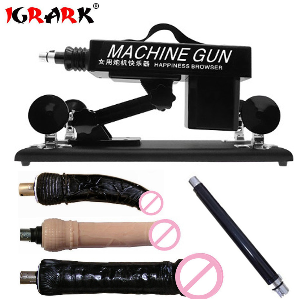 IGRARK Upgrade Affordable Sex Machine For Men And Women Automatic Masturbation Love Robot Machines With Big Dildo Adult Sex Toys-in Vibrators from Beauty & Health