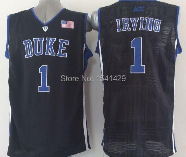 b2ceb2b7b9f ... authentic duke university jersey 2015 blue devils 1 kyrie irving duke  white black 5b22f 72ba2