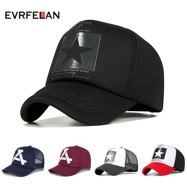 Evrfelan nueva gorra de béisbol de moda Unisex transpirable Hip Hop  sombreros gorra de béisbol de e7880ee93c8