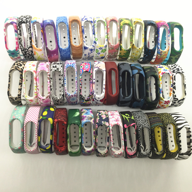 ZUCZUG New Mi Band 2 Bracelet Strap Miband 2 Strap Colorful Replacement silicone wrist strap for xiaomi mi banda 2 smartband