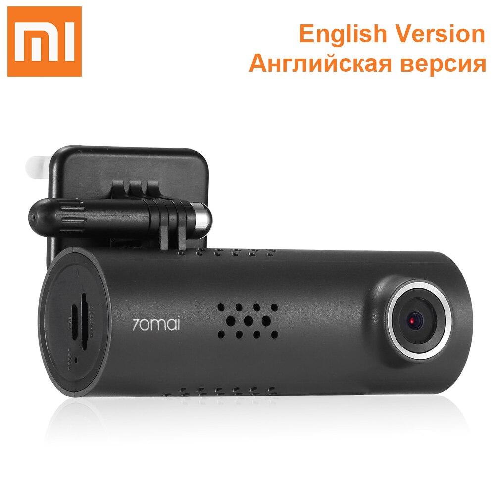 Xiaomi 70mai Wi Fi автомобильный dvr 1080 P Full HD камера Мини 130 градусов беспроводной регистраторы ночное видение Drving регистраторы SONY IMX323