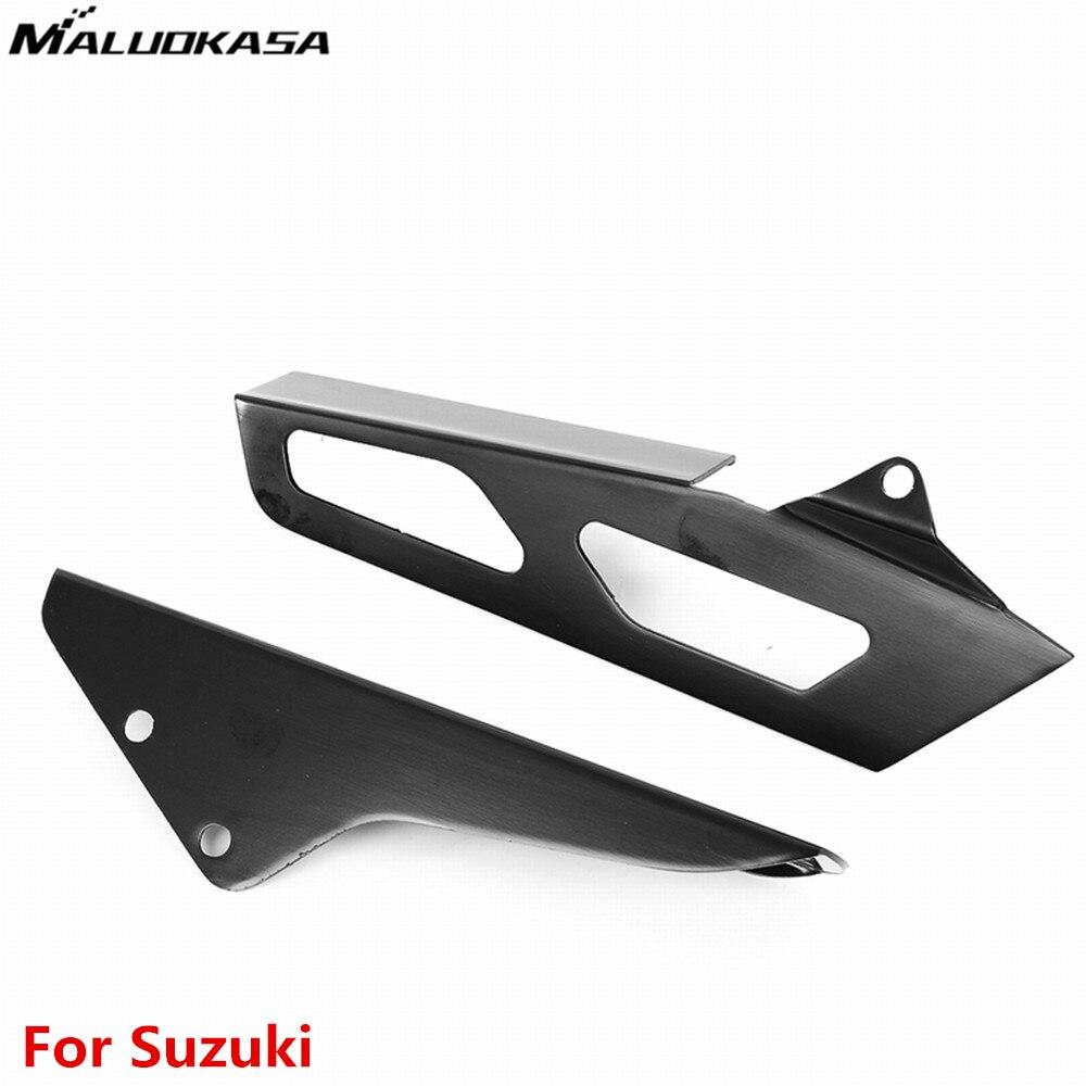 Maluokasa chain cover guard for suzuki gsxr 1000 2005 2006 gsx r 1000 k5 black motorcycle chain accessories aluminum hot sales