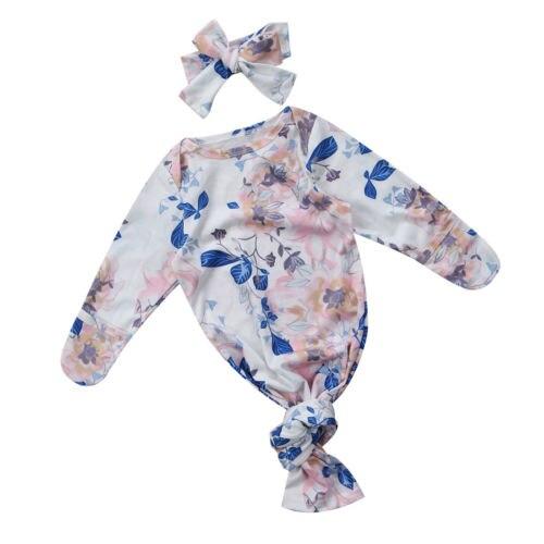 Nouveau-né Bébé Garçons Filles Sacs de Couchage Swaddle Couverture Souple À Long Nouveau-Né Bébé Floral Accessoires Costume