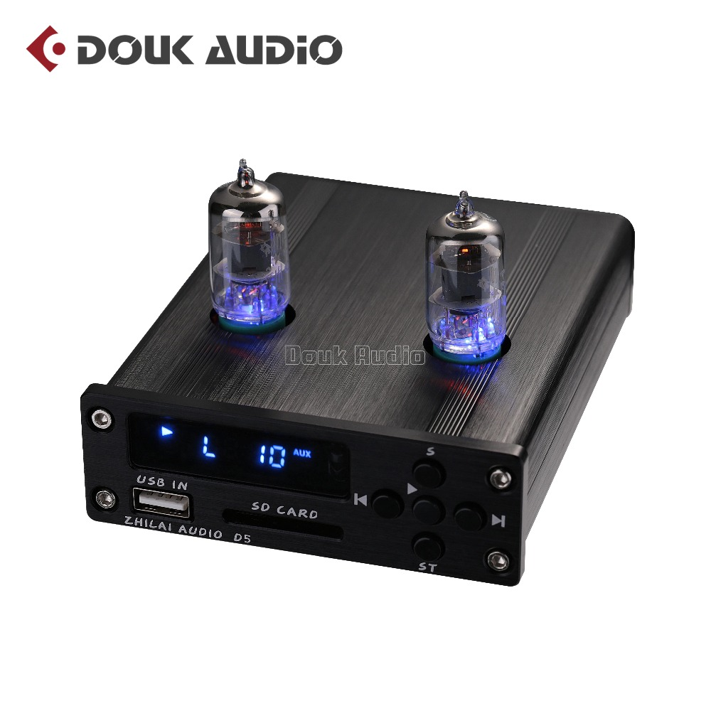 2017 New Nobsound Mini 6J1 Vacuum/Valve Tube Pre-Amplifier Stereo Preamp HiFi Music Player USB DAC Audio