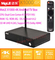 MeLE X1000-4K Android TV Box 3D 4K UHD H.265 WiFi Dual-Core Cortex-A7 1GB/8GB Smart Home TV Network Media Player& DTS Dolby XBMC