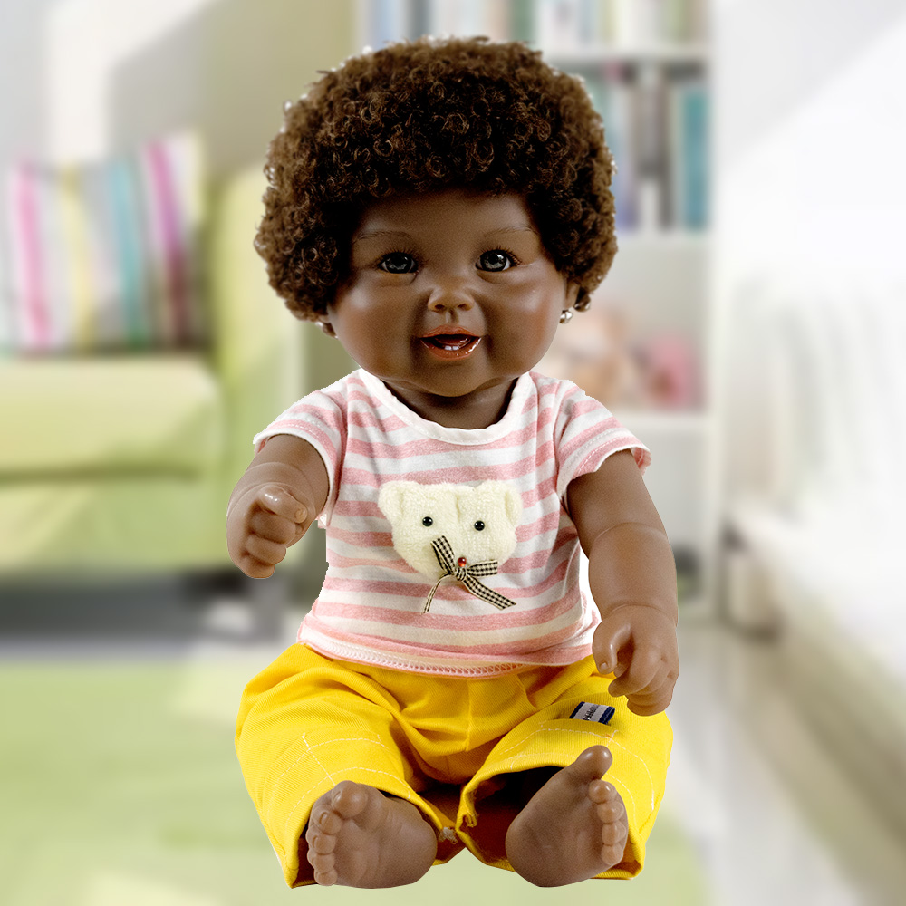 Special Toys For Girls : Fashionable african real reborn dolls toy for girls