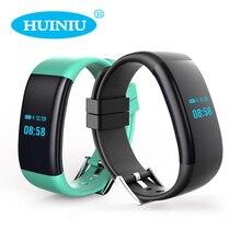 HUINIU Новый DF30 Умный Браслет Bluetooth 4.0 Монитор Сердечного ритма Артериального Давления Кислорода Монитор Браслет IP68 Для Android IOS