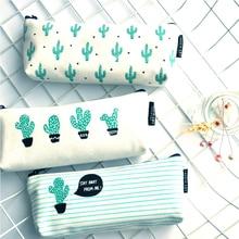 Cactus font b Pencil b font font b Case b font Canvas font b School b