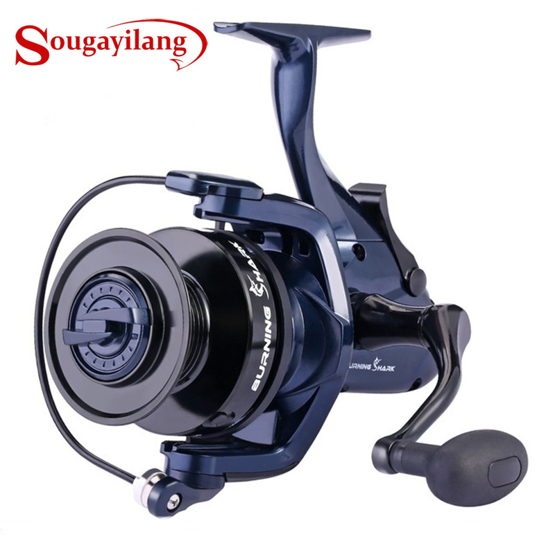High Kinds Wheel 2 Professional Fishing Reel Reels Spinning Spool Quality with Carp Sougayilang 1