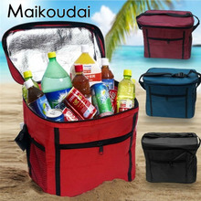 Maikoudai Big Capacity Lunch Bags For Women Portable Insulated Lunch Box For Kids Cooler Box Tote Bag Multifunction Thermal Bags