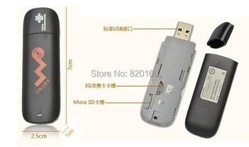 HUAWEI E261 WCDMA 3G Wireless Network Card USB Modem Adapter For Android DVD Desktop Laptop Ipad