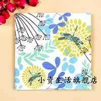 20pcs 33cm*33cm Floral Butterfly Paper Napkin Festive Party Tissue Napkins Party Decoration