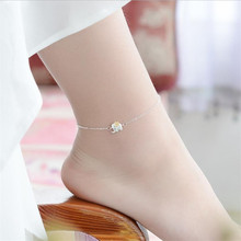 TJP Cute Ethnic Elephant Silver 925 Women Bracelets Jewelry Fashion Girl Anklets Accessories For Lady Female Party Bijou