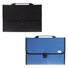 1 Pc A4 Business Document Storage Expandable File Folder Office Waterproof  Briefcase New Design(China