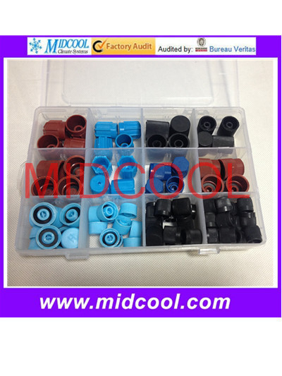 High Quality R12&R134a Automotive Air Conditioning valve cores cap high quality automotive refrigeration air conditioning manifold gauge for r134a