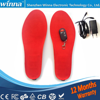 Heated Insoles Winter Men Women Heated Shoe Inserts Usb Charged Electric Insoles For Shoes Boot Keep