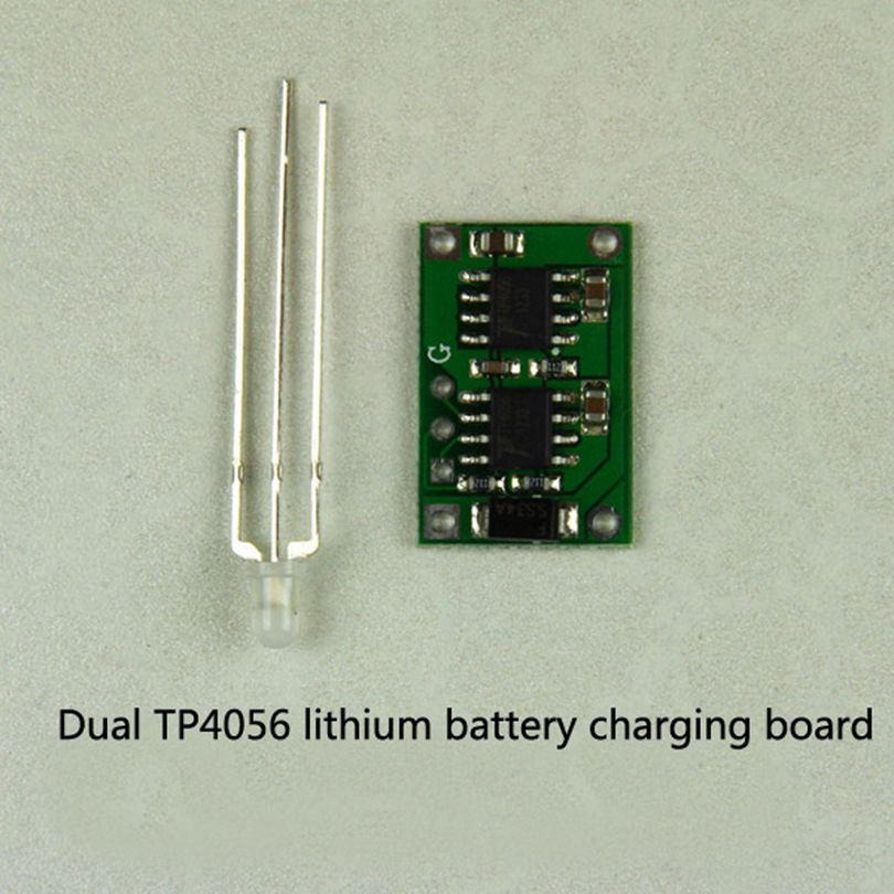 Double-TP4056 lithium polymer battery charging battery charging plate 2A Max 12 6v 11 1v 3 series 3s 3 section protective plate polymer lithium battery protection plate 28a peak 8a