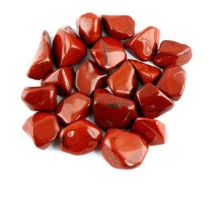 Red Jaspe r Tumbled Stone For Money and Root Chakra,Crystal Healing & Feng Shui Pendant Approx 1