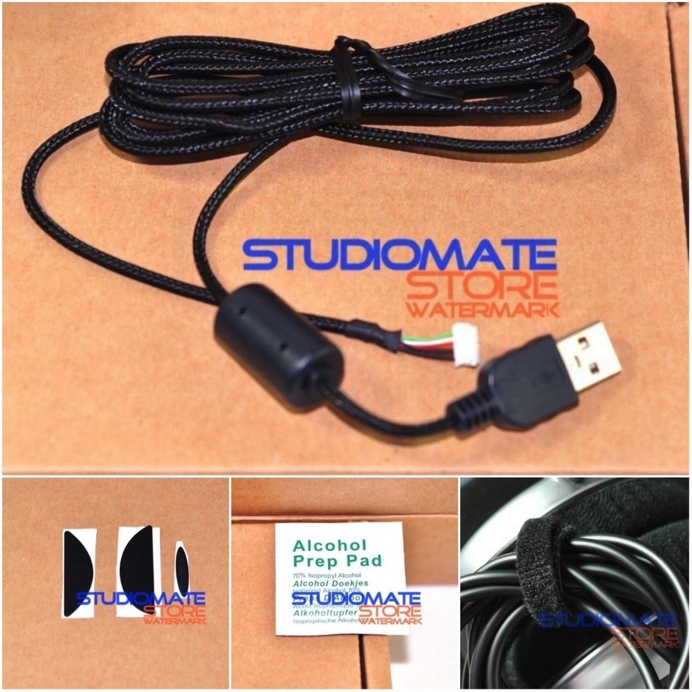Cable De Línea De Cable Usb Para Ratón De Reparación Para Patín De Pies De Logitech G500 G500s
