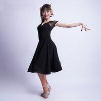 New Latin Dance Dress Women Samba Dance Costumes Clothes Salsa Ballroom Dancing Dresses women performance/Latin Practice Wear