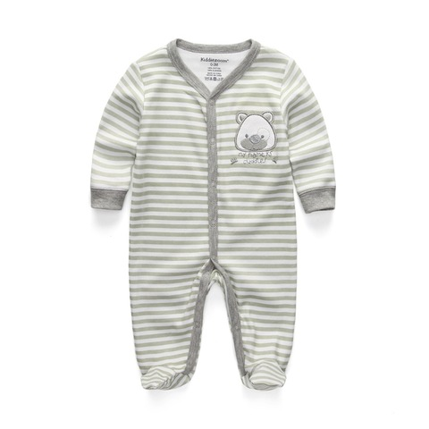 New 2019 Cute Baby Jumpsuit Comfortable Clothing Long Sleeve Baby Girl Clothes Cotton Baby Rompers Roupas de bebe Boy Clothes Karachi