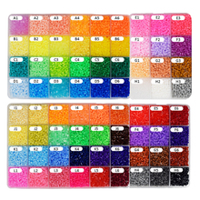 DOLLRYGA 2.6mm 1500pcs/lot Hama Beads in Puzzle Perler jouet enfant For Kids Craft Fuse Beads  Pegboards Patterns DIY Toy Puzzle