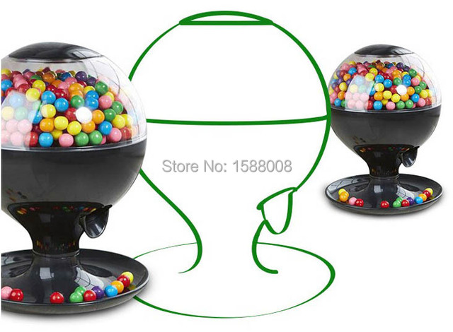 automatic infrared sensor candy dispenser mini bubble gum candy