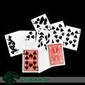 Cards Printing Magic Trcks Poker Play Card Free Shipping Magia Trick Toys Children Easy Close up Fun Magie