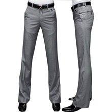 Новинка, брюки-клеш Modis G, мужские летние прямые брюки, британский стиль, свободные брюки для отдыха, строгие брюки для мужчин
